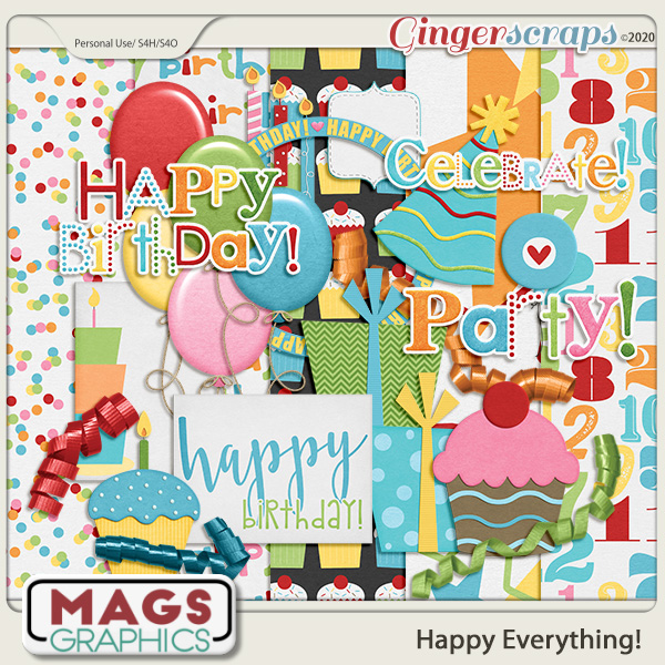 Happy Everything BIRTHDAY ADD-ON PACK by MagsGraphics