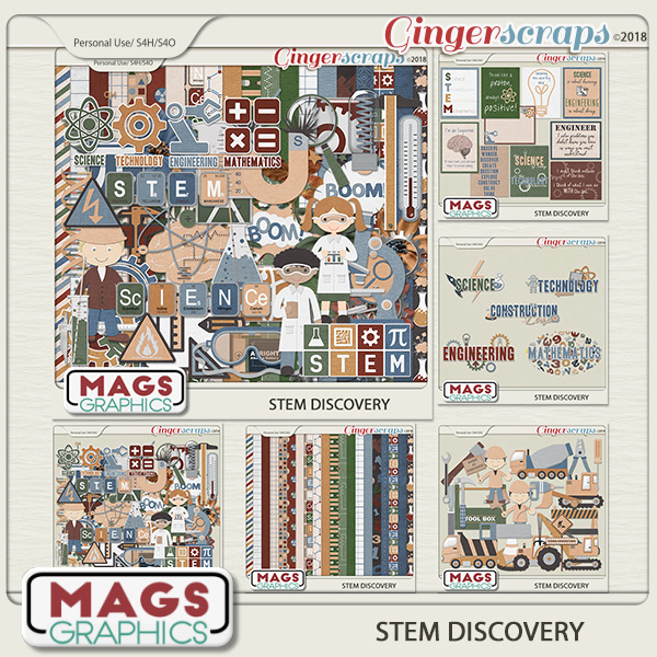 STEM Discovery BUNDLE by MagsGraphics