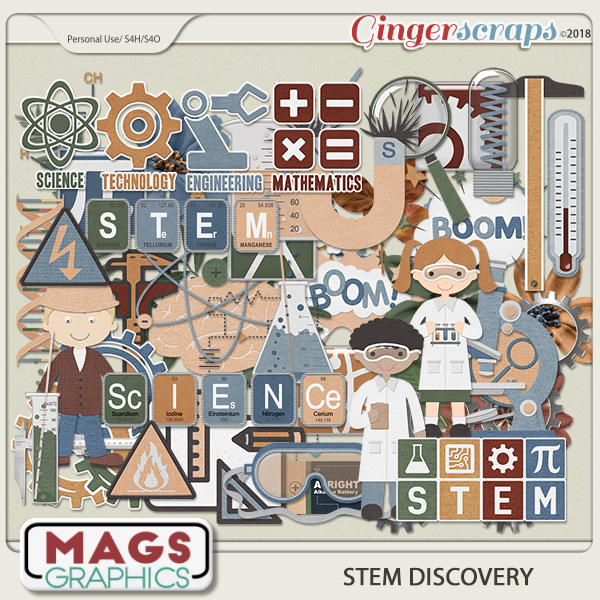 STEM Discovery ELEMENTS by MagsGraphics