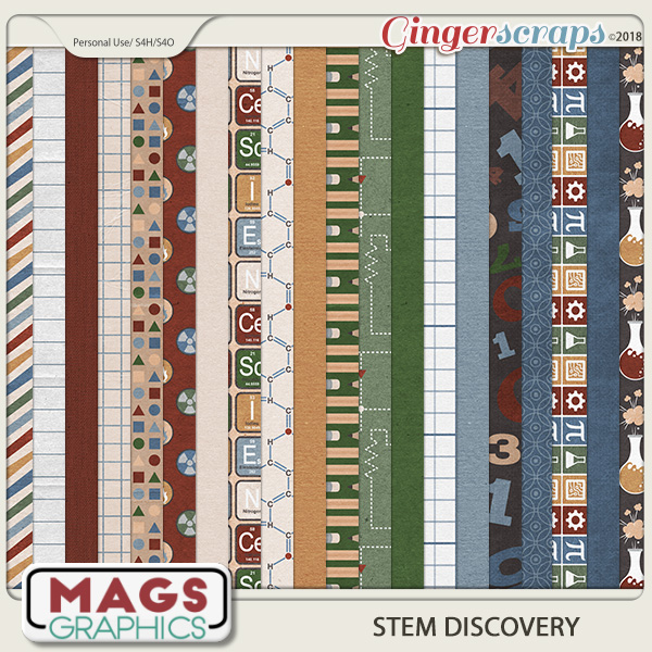 STEM Discovery PAPERS by MagsGraphics