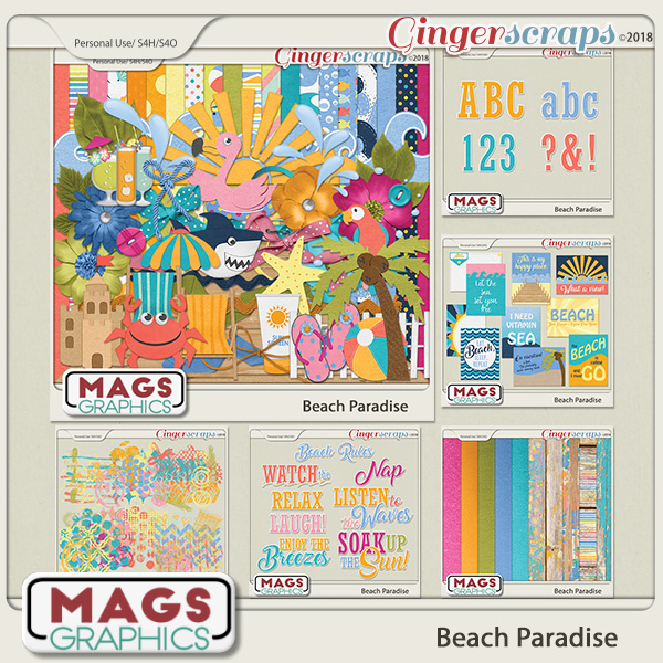 Beach Paradise BUNDLE by MagsGraphics