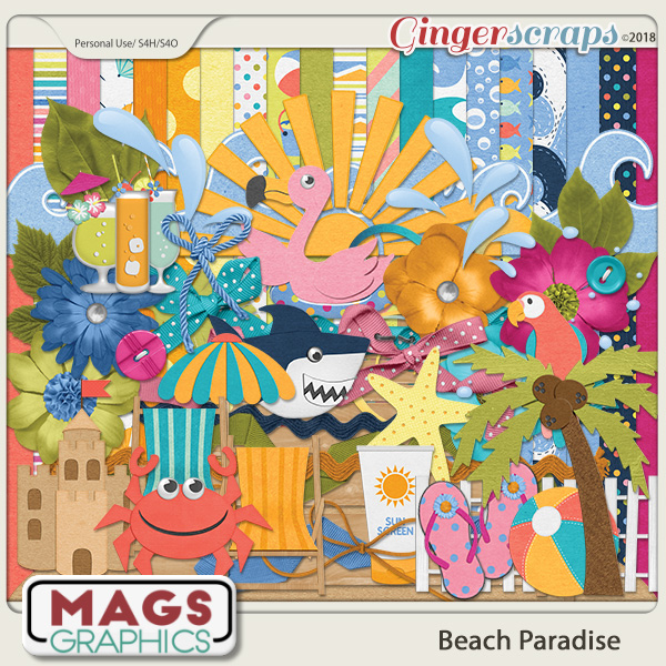 Beach Paradise KIT by MagsGraphics