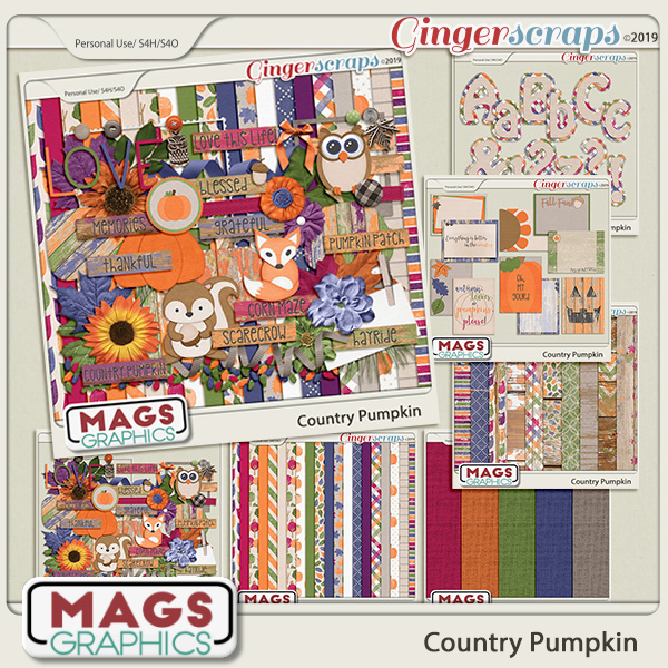 Country Pumpkin BUNDLE by MagsGraphics