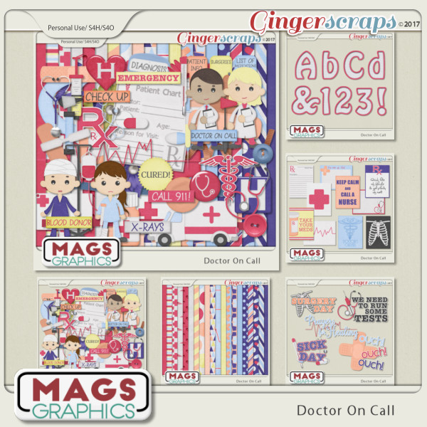 Doctor On Call BUNDLE by MagsGraphics