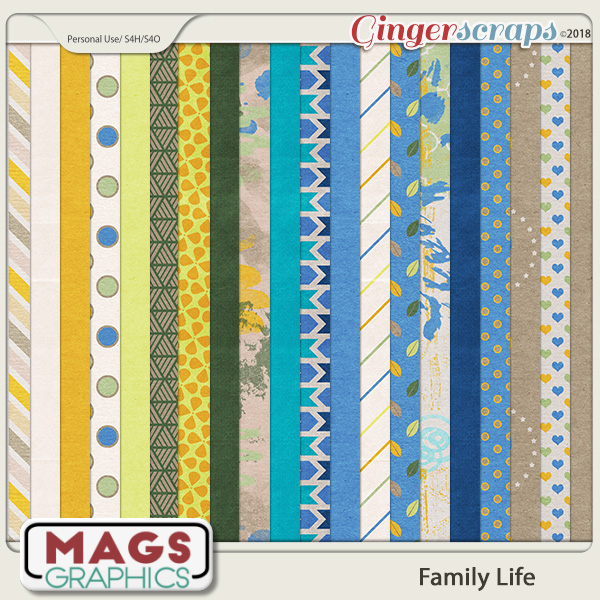 Family Life PAPERS by MagsGraphics