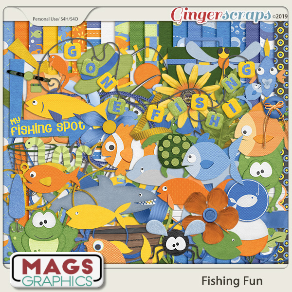 Fishing Fun KIT by MagsGraphics
