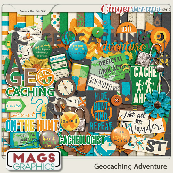 Geocaching Adventure KIT by MagsGraphics