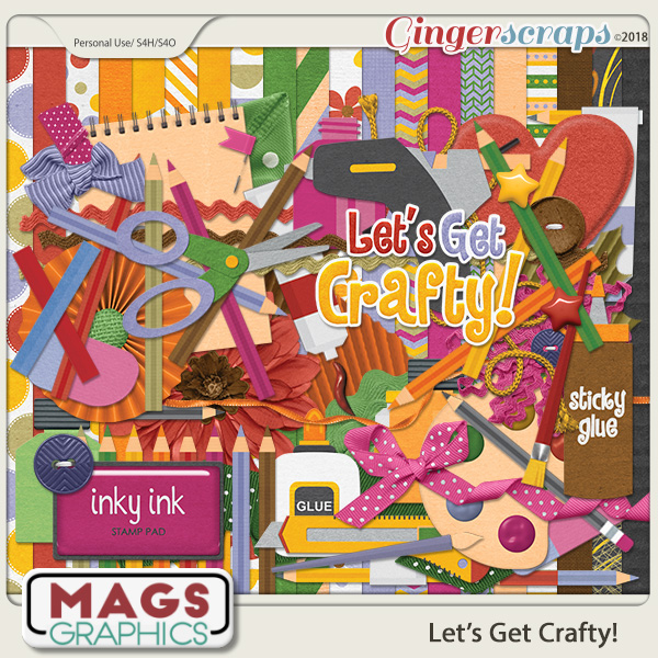 Let's Get Crafty KIT by MagsGraphics