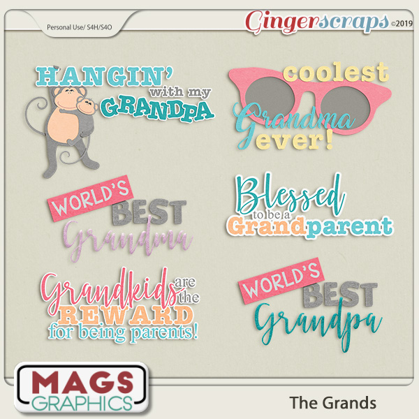 The Grands WORD ART by MagsGraphics