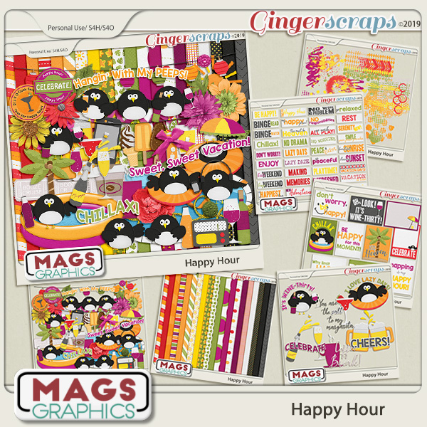 Happy Hour BUNDLE by MagsGraphics