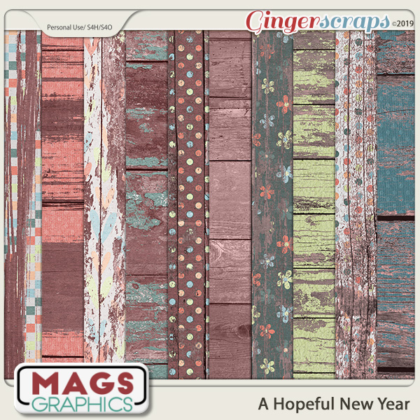 A Hopeful New Year SPECIALTY PAPERS by MagsGraphics