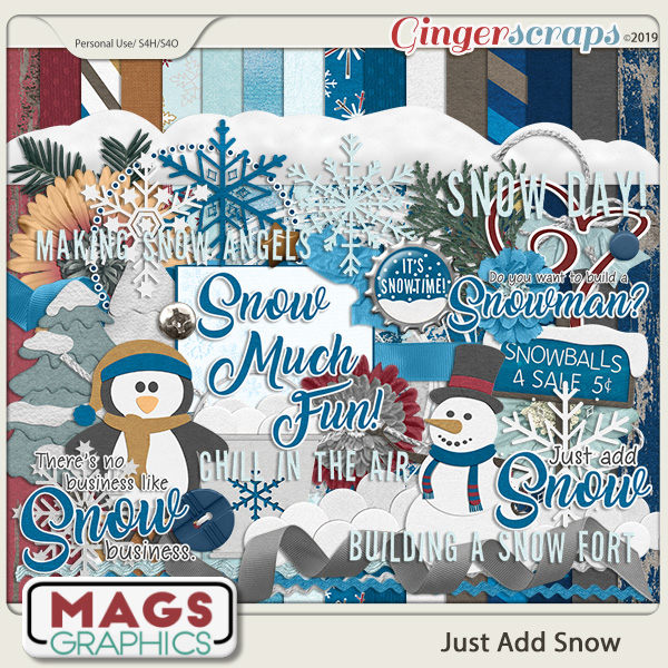 Just Add Snow KIT by MagsGraphics