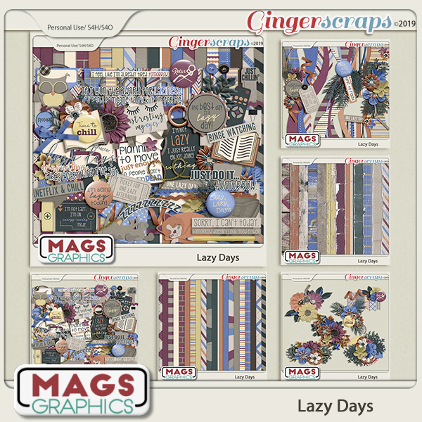 Lazy Days BUNDLE by MagsGraphics