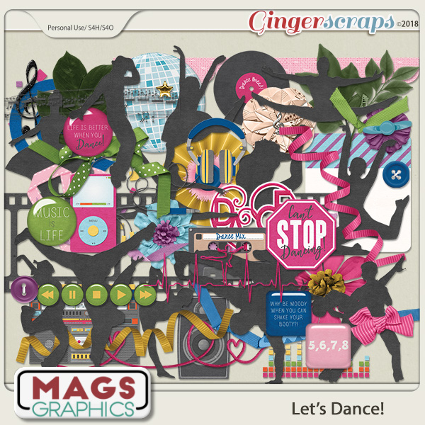 Let's Dance ELEMENTS by MagsGraphics