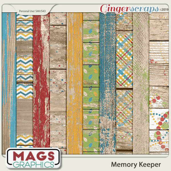 Memory Keeper WOOD PAPERS by MagsGraphics