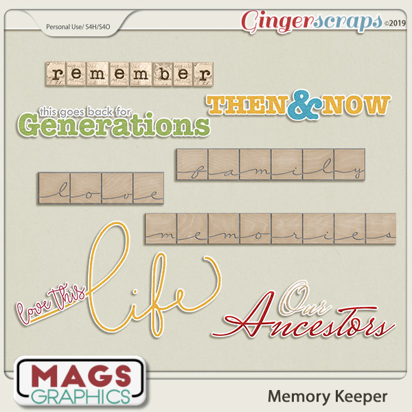 Memory Keeper WORD ART by MagsGraphics
