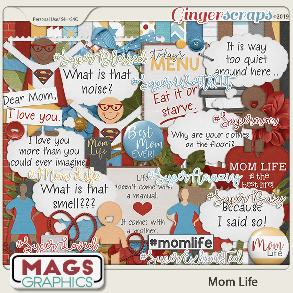 Mom Life KIT by MagsGraphics