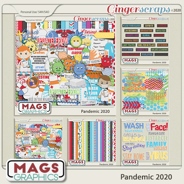 Pandemic 2020 BUNDLE by MagsGraphics