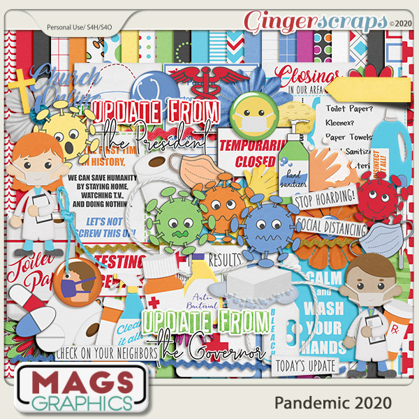 Pandemic 2020 KIT by MagsGraphics