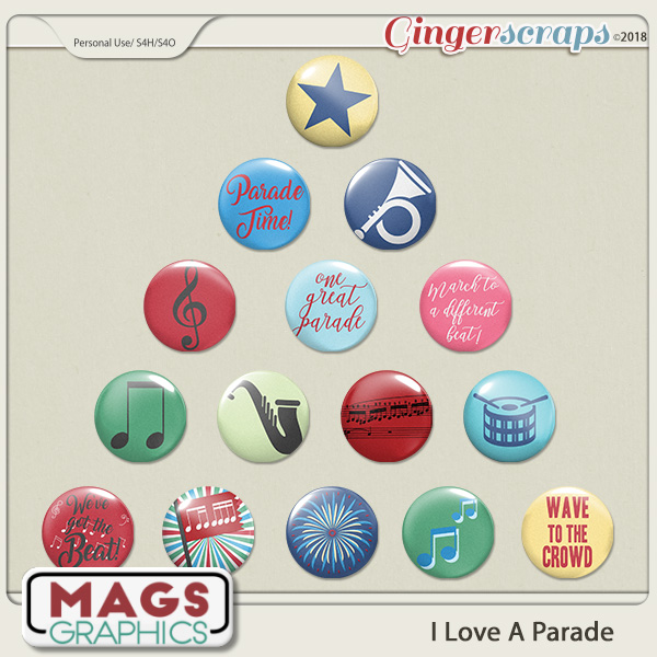 I Love A Parade FLAIR by MagsGraphics