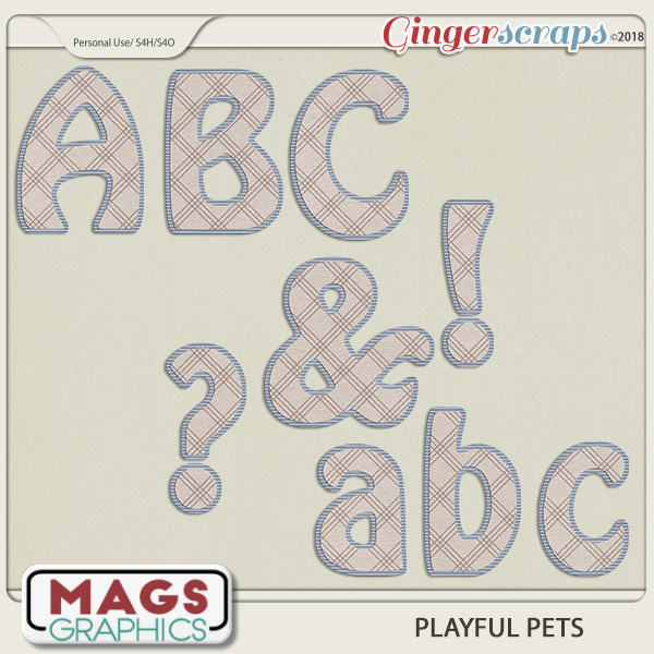 Playful Pets ALPHA by MagsGraphics