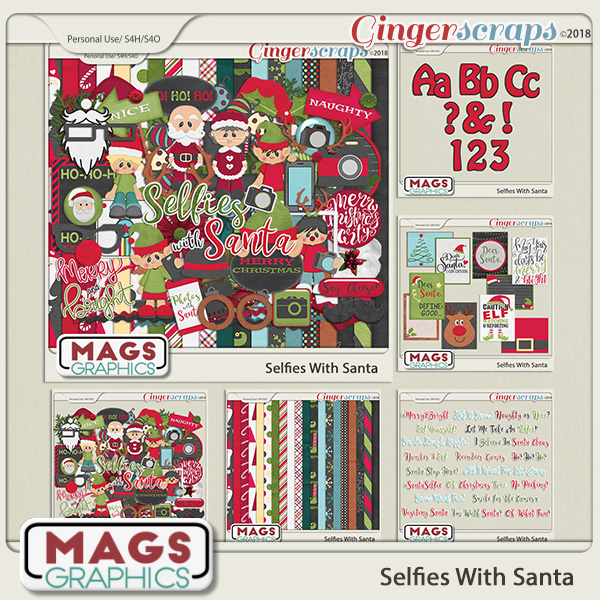 Selfies With Santa BUNDLE by MagsGraphics