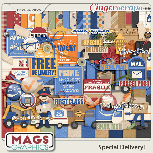 Special Delivery KIT by MagsGraphics