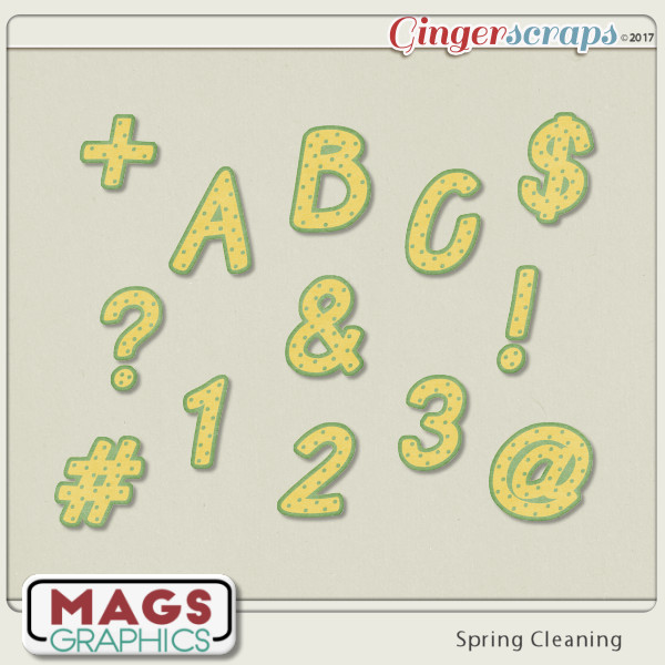 Spring Cleaning ALPHA by MagsGraphics