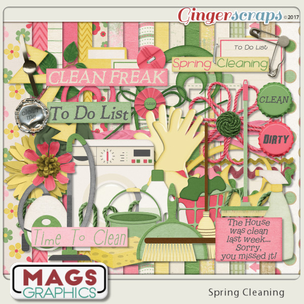 Spring Cleaning KIT by MagsGraphics