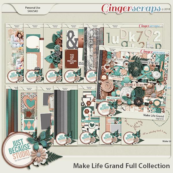 Make Life Grand Bundled Collection 3 by JB Studio