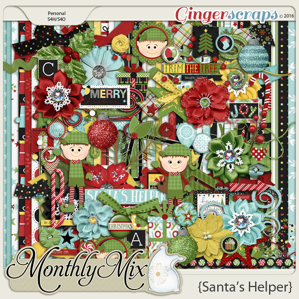 Monthly Mix: Santa's Helper