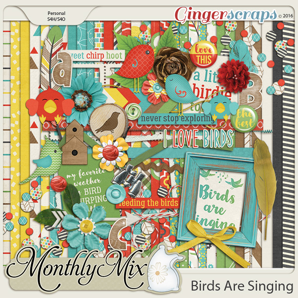 Monthly Mix: Birds Are Singing