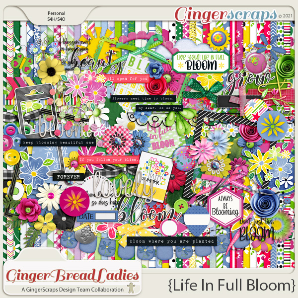 GingerBread Ladies Monthly Mix: Life In Full Bloom