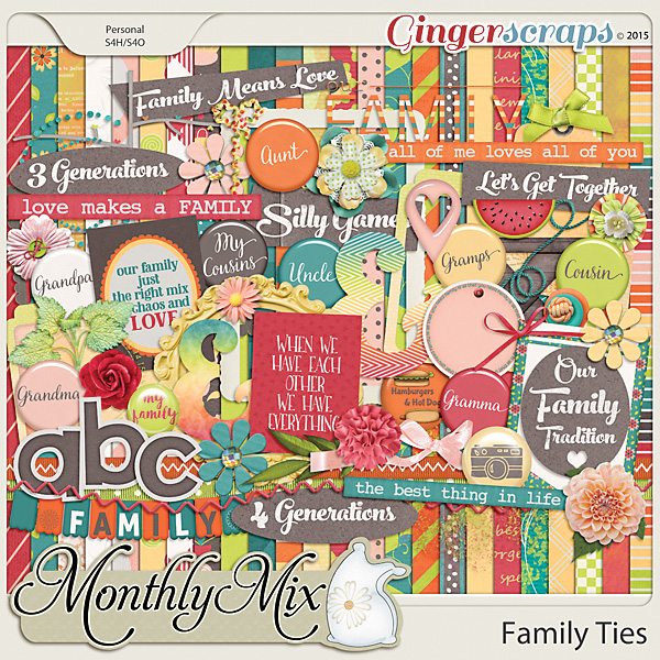 Monthly Mix: Family Ties