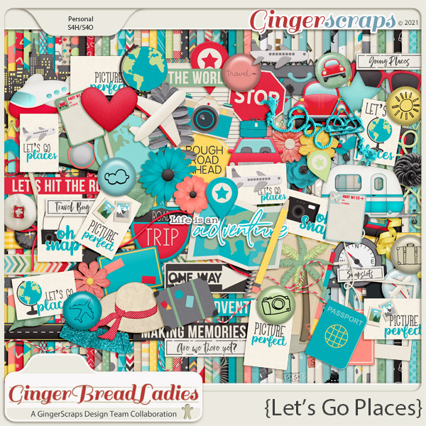 GingerBread Ladies Monthly Mix: Let's Go Places