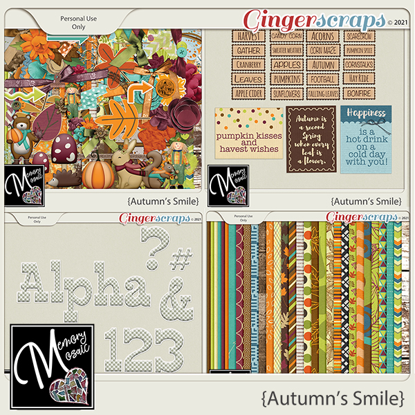 Autumn's Smile by Memory Mosaic