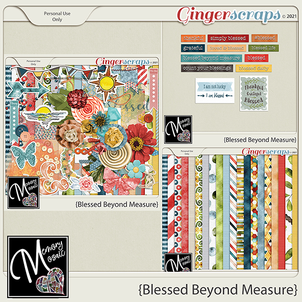 Blessed Beyond Measure by Memory Mosaic