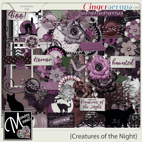 Creatures of the Night by Memory Mosaic