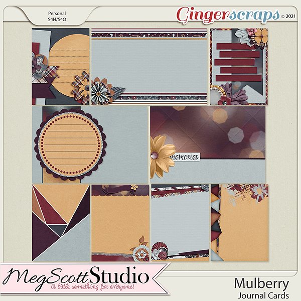 Mulberry Journal Cards