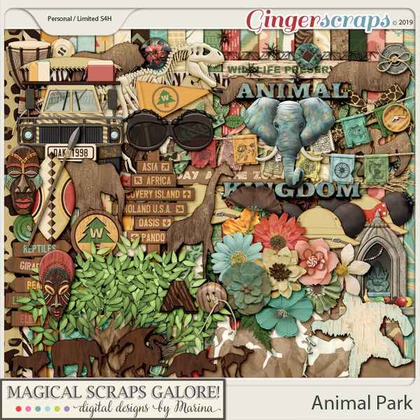 Animal Park (page kit)