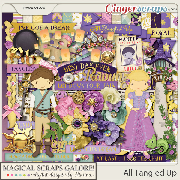All Tangled Up (page kit)