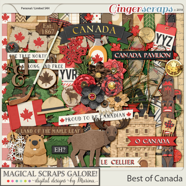 Best of Canada (page kit)