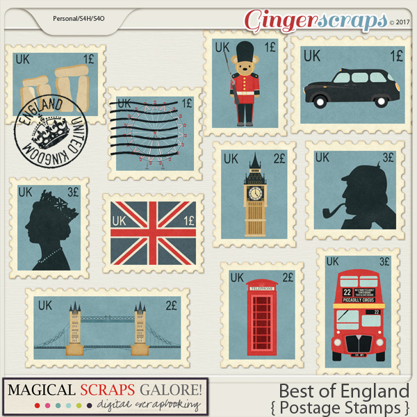 Best of England (postage stamps)