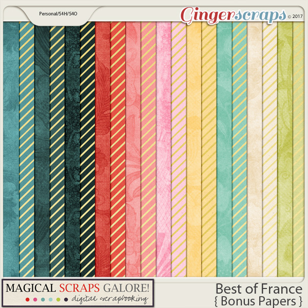 Best of France (bonus papers)