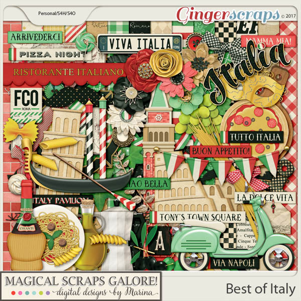 Best of Italy (page kit)