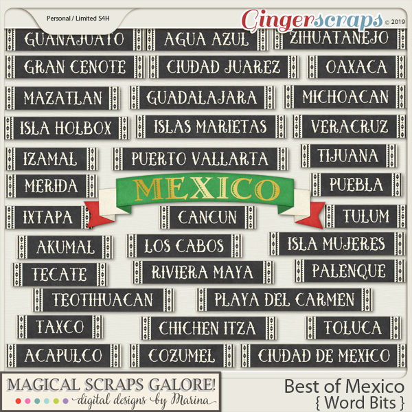 Best of Mexico (word bits)