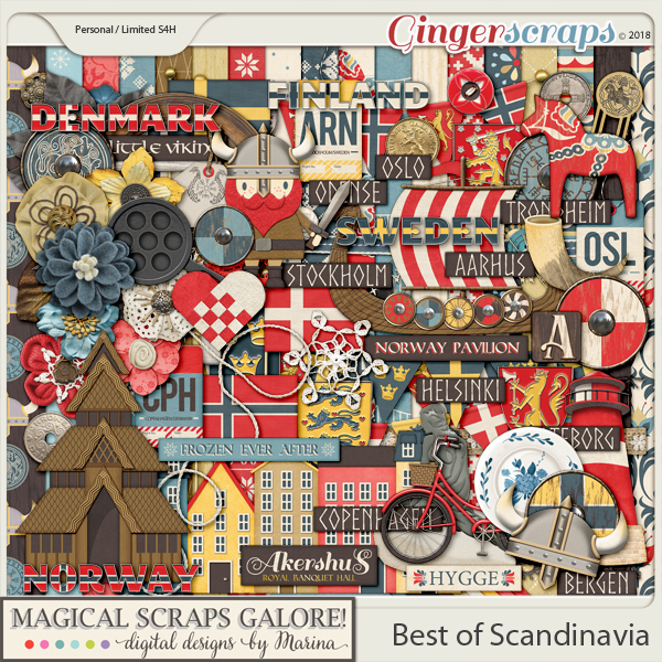 Best of Scandinavia (page kit)