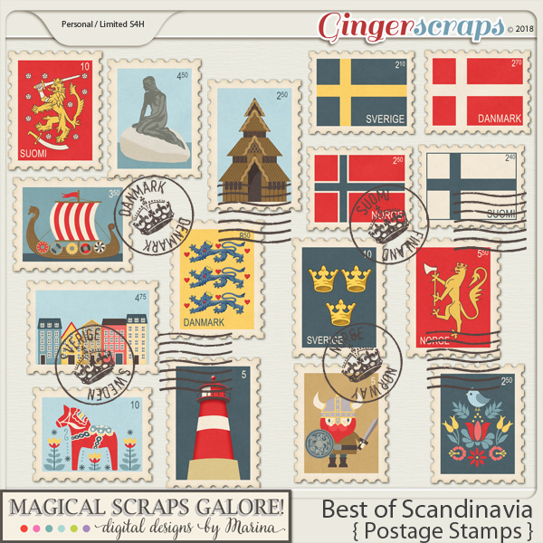 Best of Scandinavia (postage stamps)