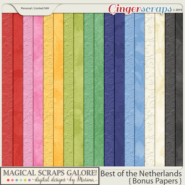 Best of the Netherlands (bonus papers)