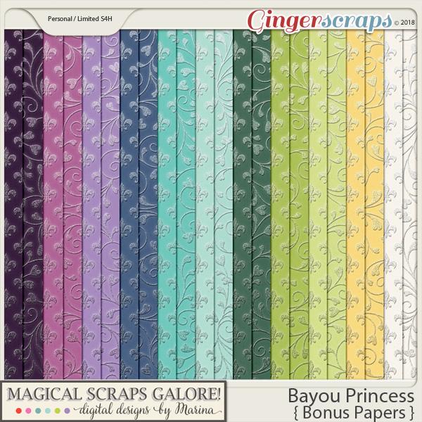 Bayou Princess (bonus papers)